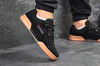 Мужские кроссовки в стиле Reebok Classic Black, черные 44 (28 см)