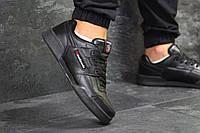 Мужские кроссовки в стиле Reebok Classic Black, черные 45 (29 см)