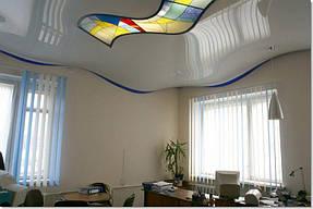 Натяжные потолки офис. 10