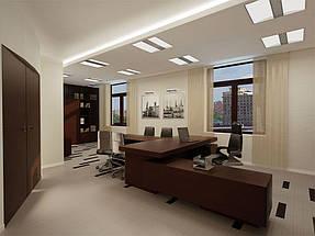 Натяжные потолки офис. 12