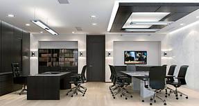 Натяжные потолки офис. 15