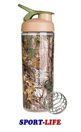 Шейкер спортивный BLENDER BOTTLE SLEEK 820ml камуфляж, спортивная бутылка, для охоты и рыбалки