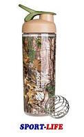Шейкер спортивный BLENDER BOTTLE SLEEK 820ml камуфляж, спортивная бутылка, для охоты и рыбалки, фото 1