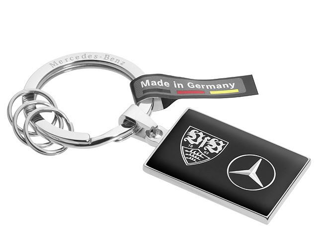 Брелок Mercedes-Benz Key ring, Bad Cannstatt, Black, (B66952319)