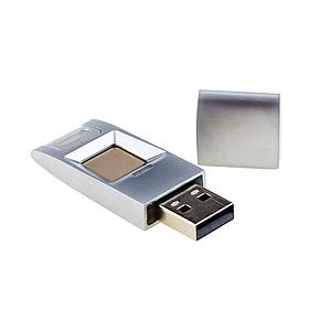 USB Flash накопитель со сканером отпечатков пальцев SEVEN Lock UF1 Silver