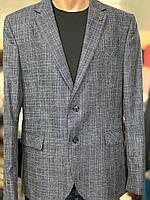 Стильний чоловічий синій піджак Emilio Sagezza Великого розміру. Туреччина.