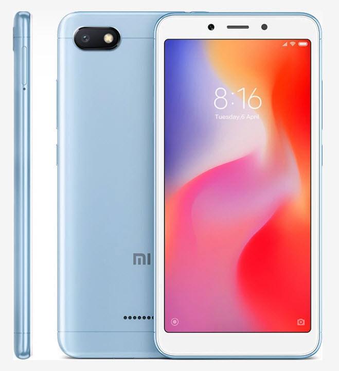 Xiaomi Redmi 6A 3/32Gb Blue Гарантия 1 Год