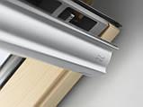 Мансардное окно VELUX Стандарт Плюс GLL 1061, ручка сверху, дерево/лак, 2-камерный, 78х160, фото 4