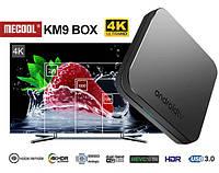 Смарт ТВ бокс 4Гб ОЗУ Mecool KM9 Голосовой+гироскоп Android 8 Amlogic S905X2 Wi-Fi 5ГГц
