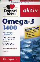Биологически активная добавка Doppelherz aktiv Omega-3 1400, 30 шт.