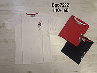Футболки для мальчиков оптом, Glo-story, 110-160 см,  № BPO-7292, фото 1