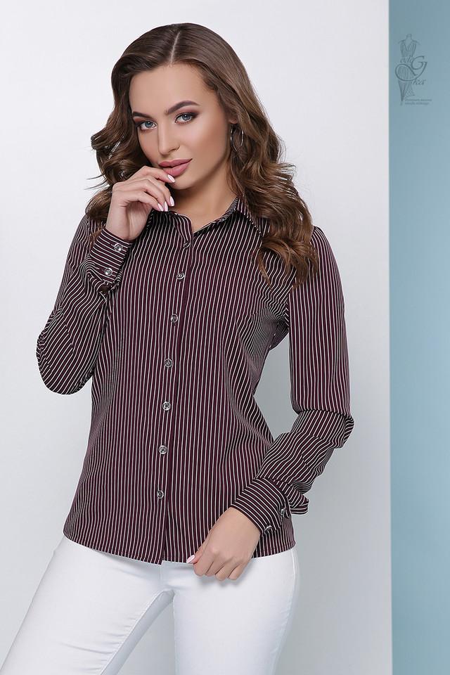 Фото-2 Женской приталенной блузки Доменика