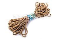Поліпропіленовий шнур для в'язання килимів 4 мм 100 метрів різні кольори