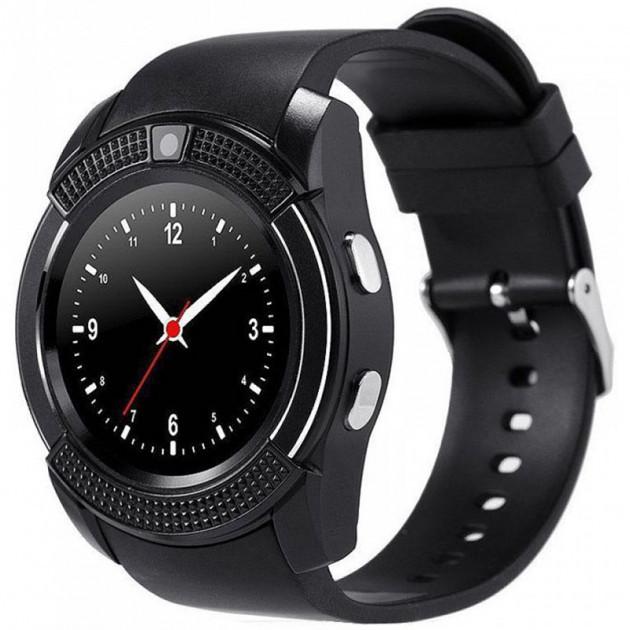 Смарт часы умные часы Smart Watch V8 Black Originalм