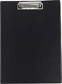 Планшет с прижимом Buromax A4 PVС, черный