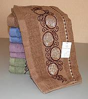 Полотенце для рук и лица махровое 95х45 см (Q-313)