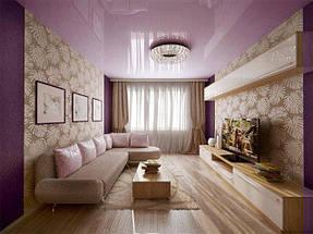Натяжные потолки гостинная. 15