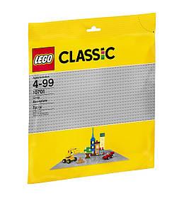 LEGO Classic Строительная пластина серого цвета 10701