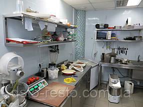 Стол из нержавейки для кухни кафе и ресторана 2000/600/850 мм, фото 3