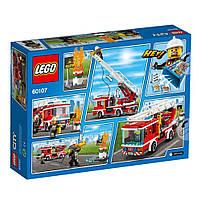 Lego City Пожарный автомобиль с лестницей 60107, фото 2
