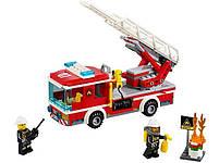 Lego City Пожарный автомобиль с лестницей 60107, фото 3
