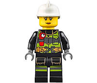 Lego City Пожарный автомобиль с лестницей 60107, фото 8