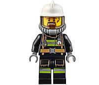 Lego City Пожарный автомобиль с лестницей 60107, фото 9