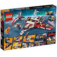 Lego Super Heroes Реактивный самолёт Мстителей: космическая миссия 76049, фото 2