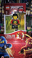 Брелок-фонарик Лего Ниндзяго Ния светодиодный LGL-KE78, фото 4