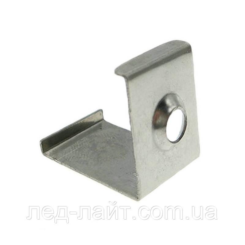 Скоба монтажная для светодиодного профиля №20