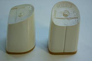 Каблук женский пластиковый 8055 h-7,4 ; 7,7; 8.0. Цвет слоновая кость., фото 2