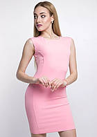 РАСПРОДАЖА! Эффектное приталенное платье из костюмной ткани