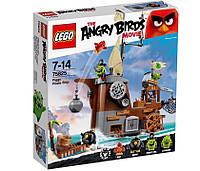 Lego Angry Birds Пиратский корабль свинок 75825