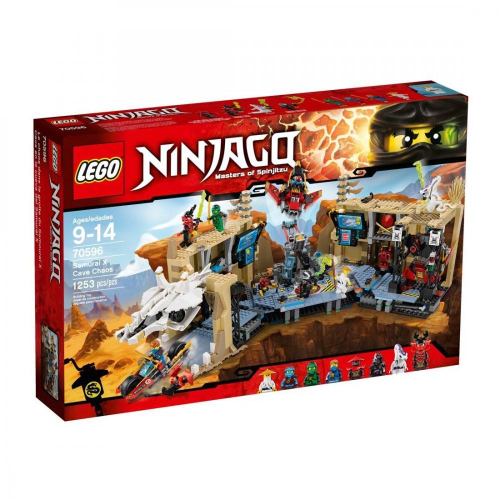 Lego Ninjago Самурай Х: Битва в пещерах 70596
