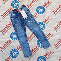 Детские джинсовые брюки для девочек оптом SEAGULL
