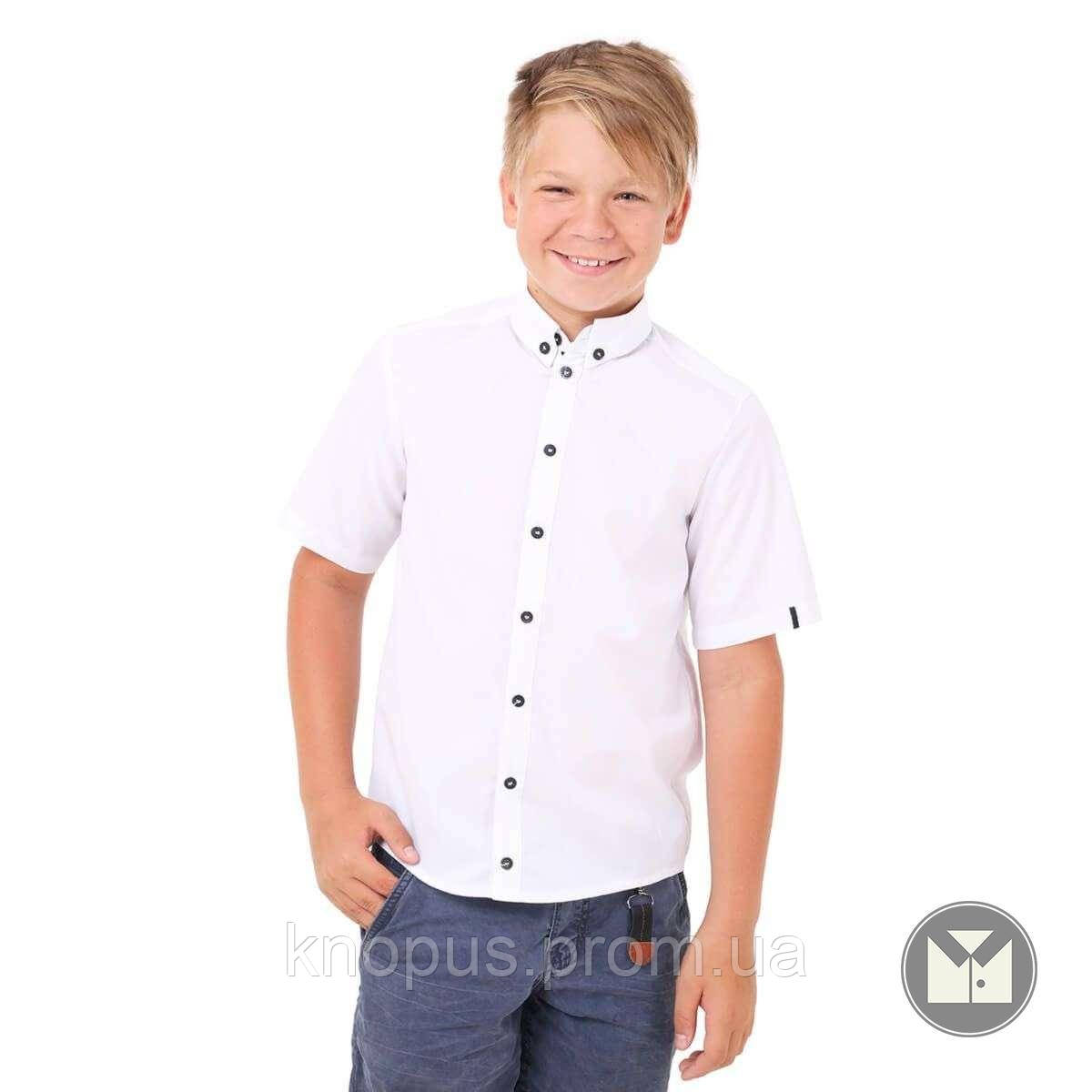Рубашка с коротким рукавом (белая), Тимбо