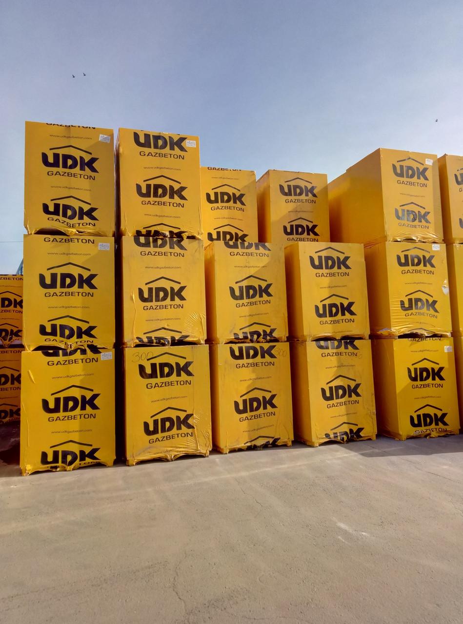 Газобетонные блоки  UDK (ЮДК)  D400