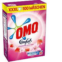 Omo  XXXL порошок для стирки цветного белья   6,5kg  (100 стирок)