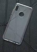 Прозрачный силиконовый чехол на Xiaomi Redmi Note 5 Pro