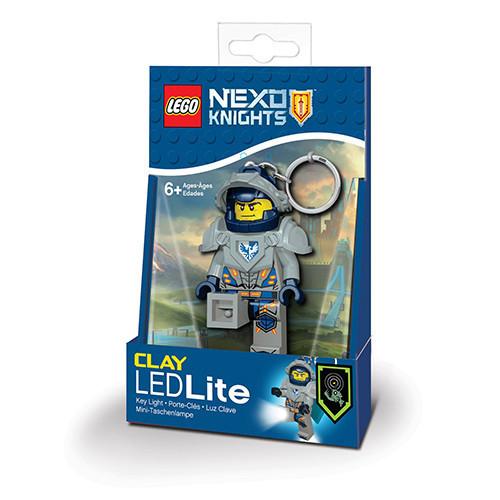 Брелок-фонарик Лего Некзо Найтс Клэй LGL-KE87