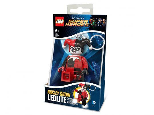 Брелок-фонарик Лего Супергерои Харли Квинн LGL-KE81