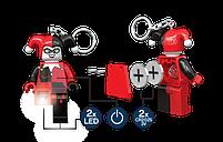 Брелок-фонарик Лего Супергерои Харли Квинн LGL-KE81, фото 4
