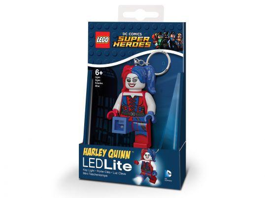 Брелок-фонарик Лего Супергерои Харли Квинн LGL-KE99