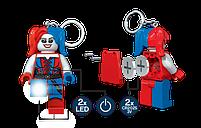 Брелок-фонарик Лего Супергерои Харли Квинн LGL-KE99, фото 3