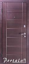 Двери квартирные, серия Элегант, модель Токио, гнутый профиль, 2 контура уплотнения, 2 замка