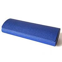 Футляр на магните, из пресс кожи с рисунком, синий (158х57х30)