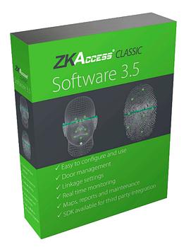 Программное обеспечение биометрического контроля доступа ZKTeco ZKAccess 3.5 бесплатно