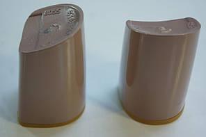 Каблук женский пластиковый 8055 h-7,4 ; 7,7; 8.0. Цвет кофе с молоком., фото 2