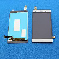 Дисплей с сенсором Huawei Ascend P8 Lite модуль для телефона, белый.