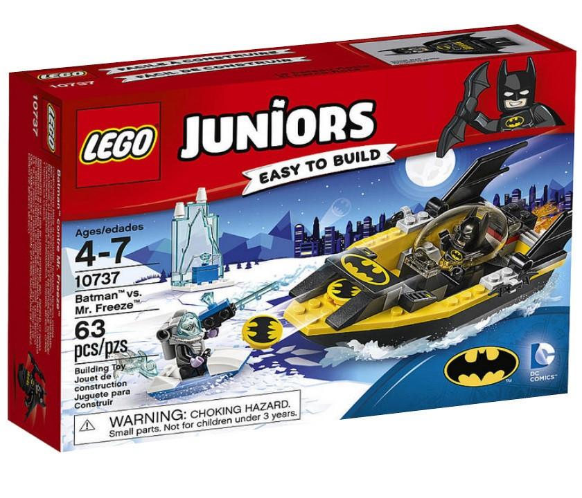 Lego Juniors Бэтмен против Мистера Фриза 10737